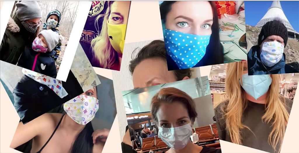 Social posts supporting the masks4all campaign have helped social normalisation in Czech Republic